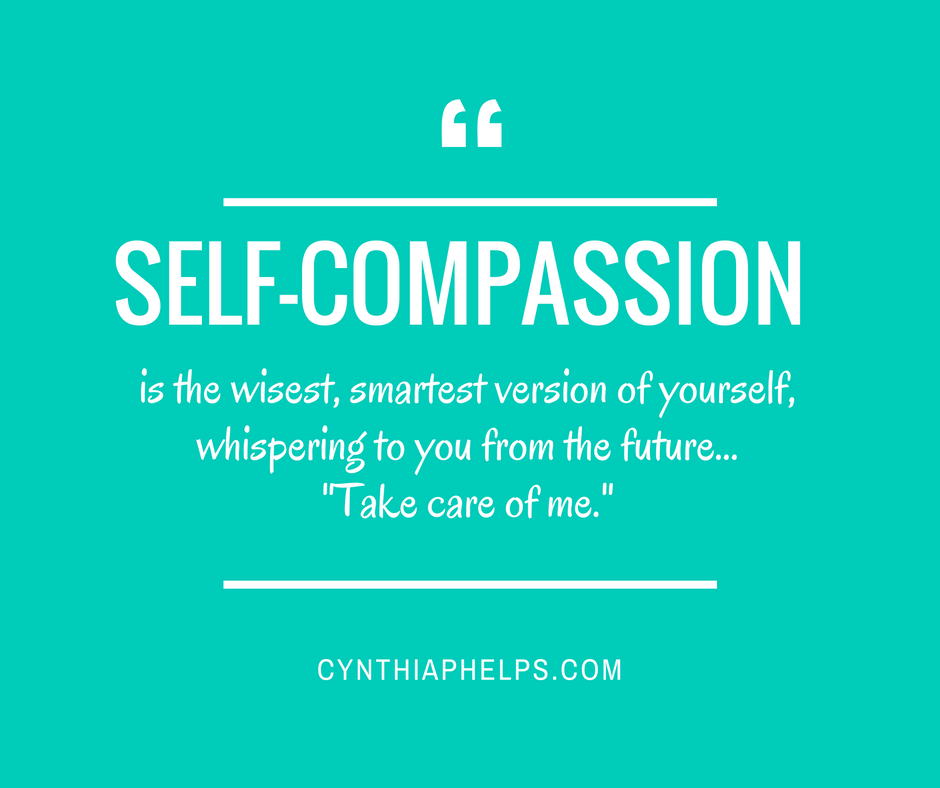 Compassion For Each Other: Cynthia Phelps, PhD